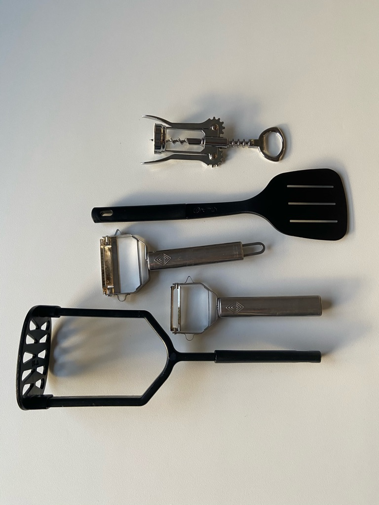Essential kitchen kit