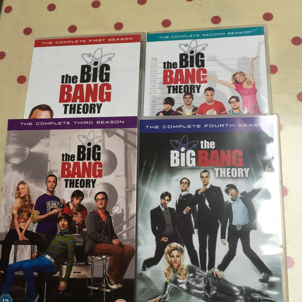 The Big Bang theory series 1-4 13 discs