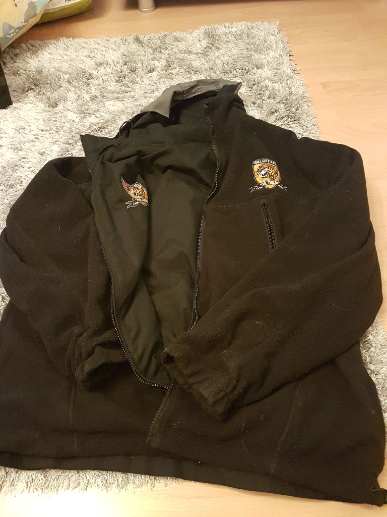 Hull city fc reversible jacket