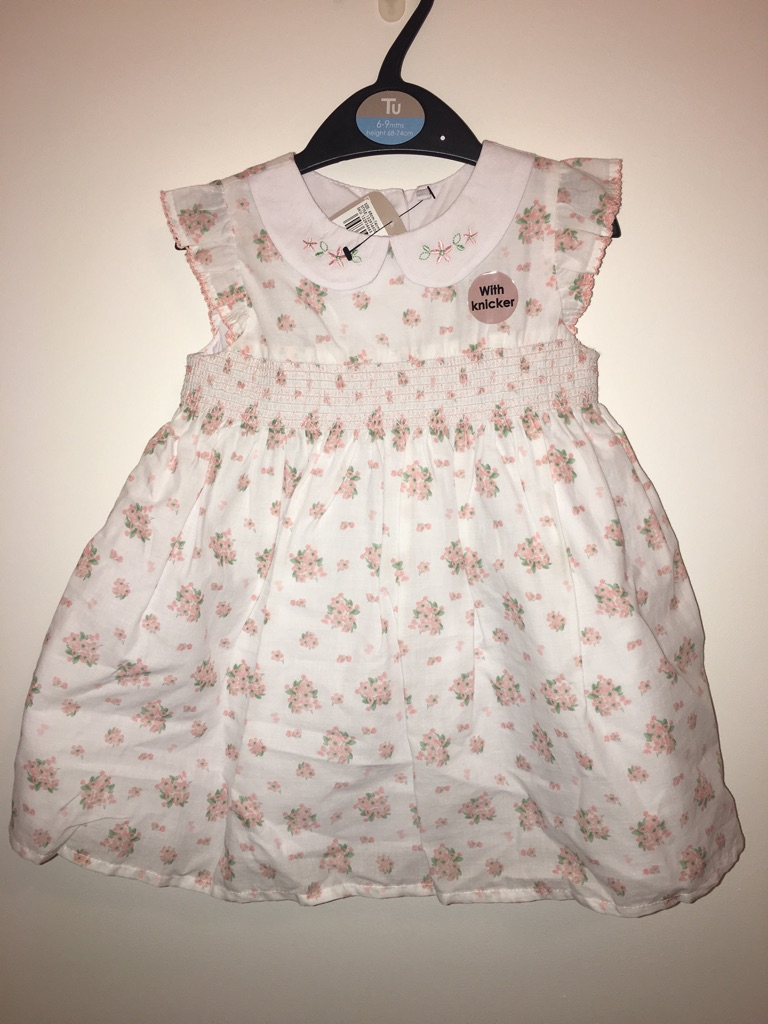 6-9 month girls dresses