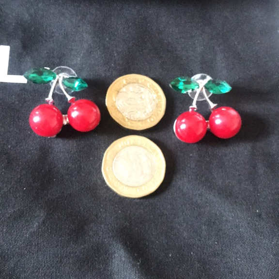 Cherry earring