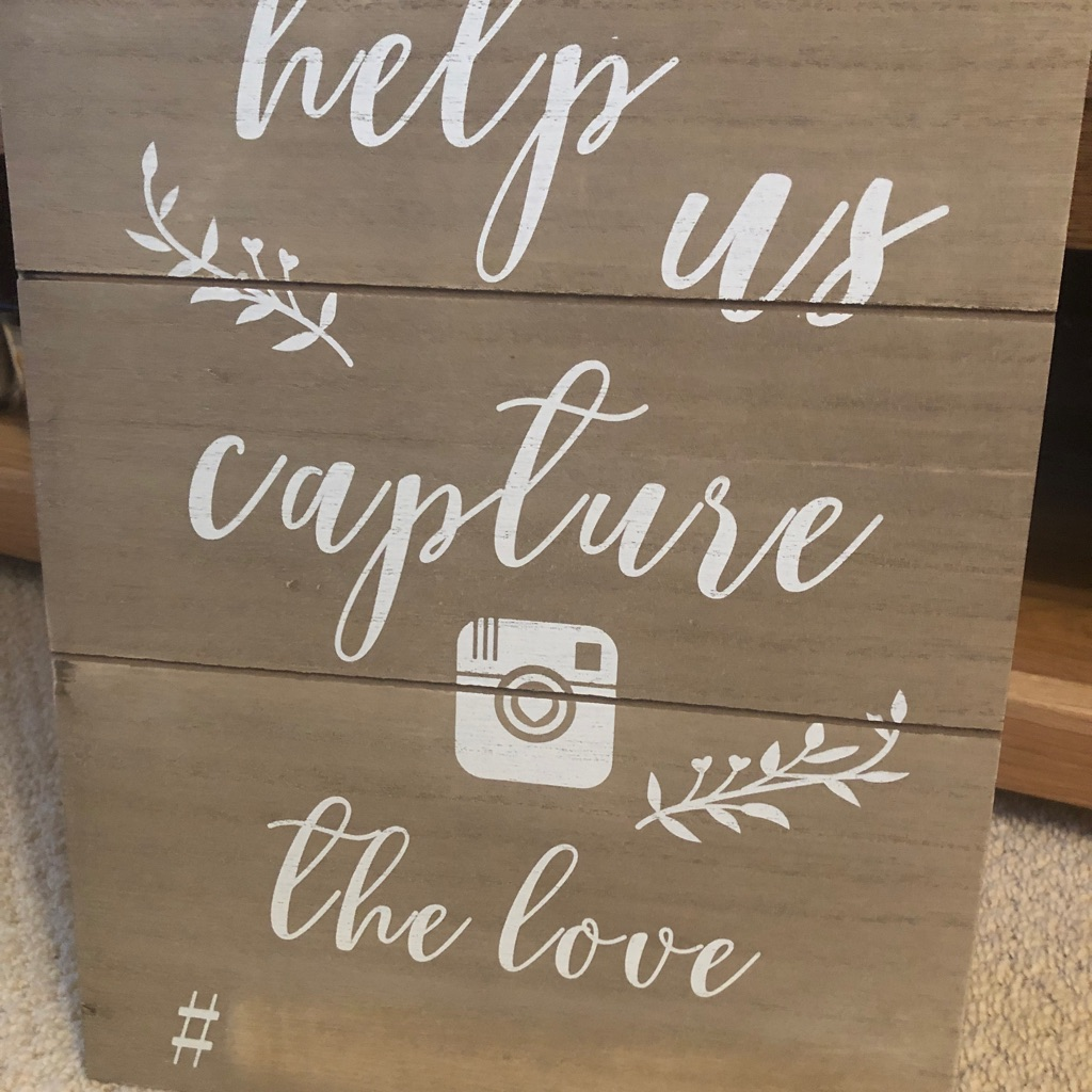 #wedding sign