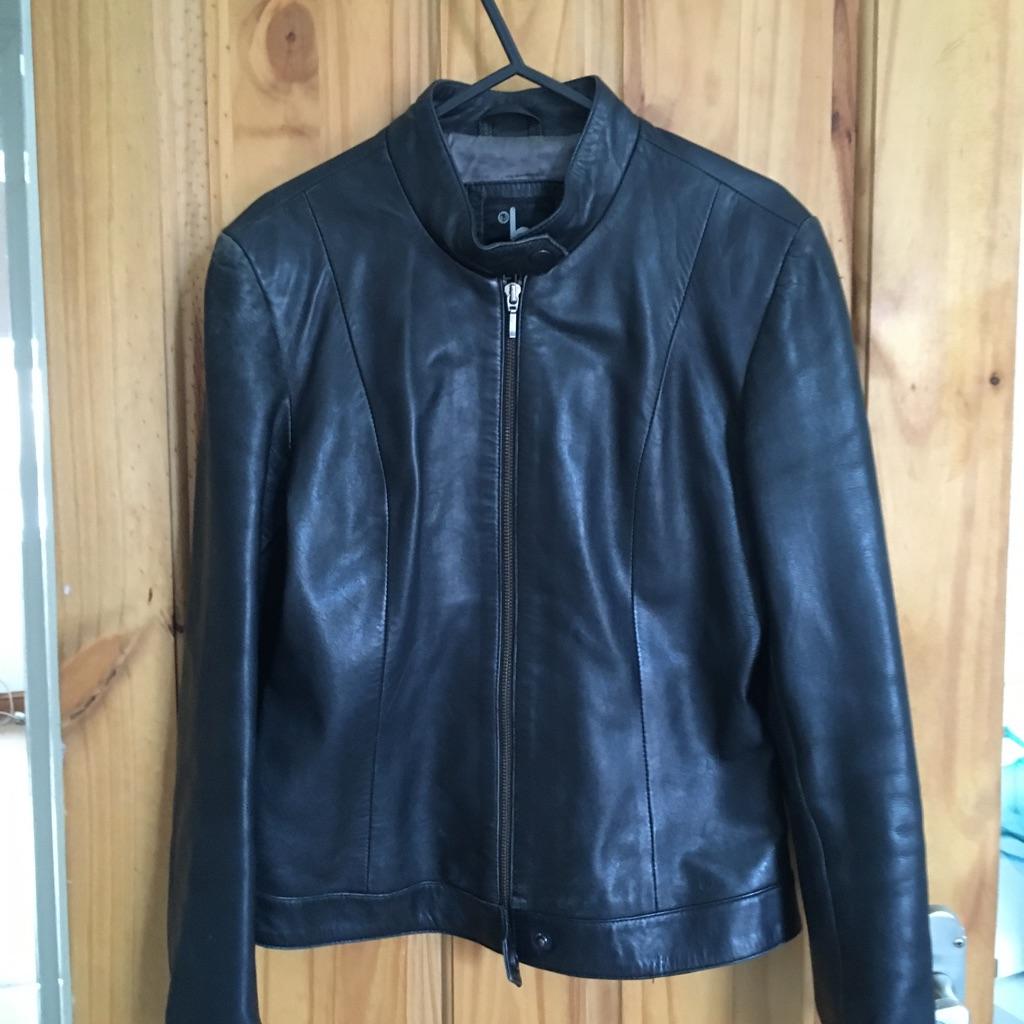 Ladies Leather Jacket size8/10