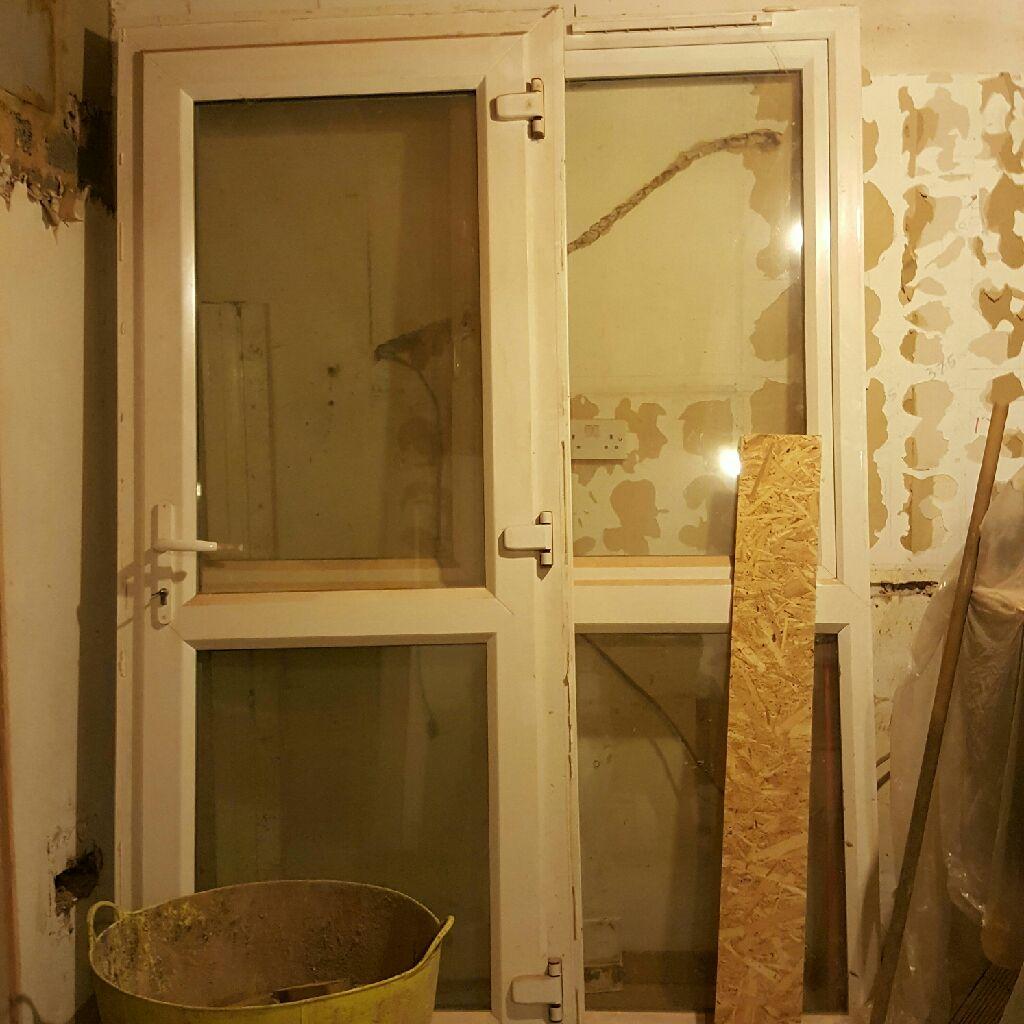 UPVC Door and Double window