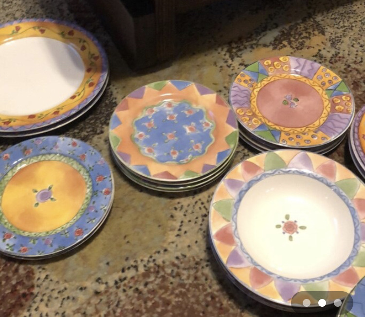 Misc set of dishes made by Sango(sweet shoppe edition)