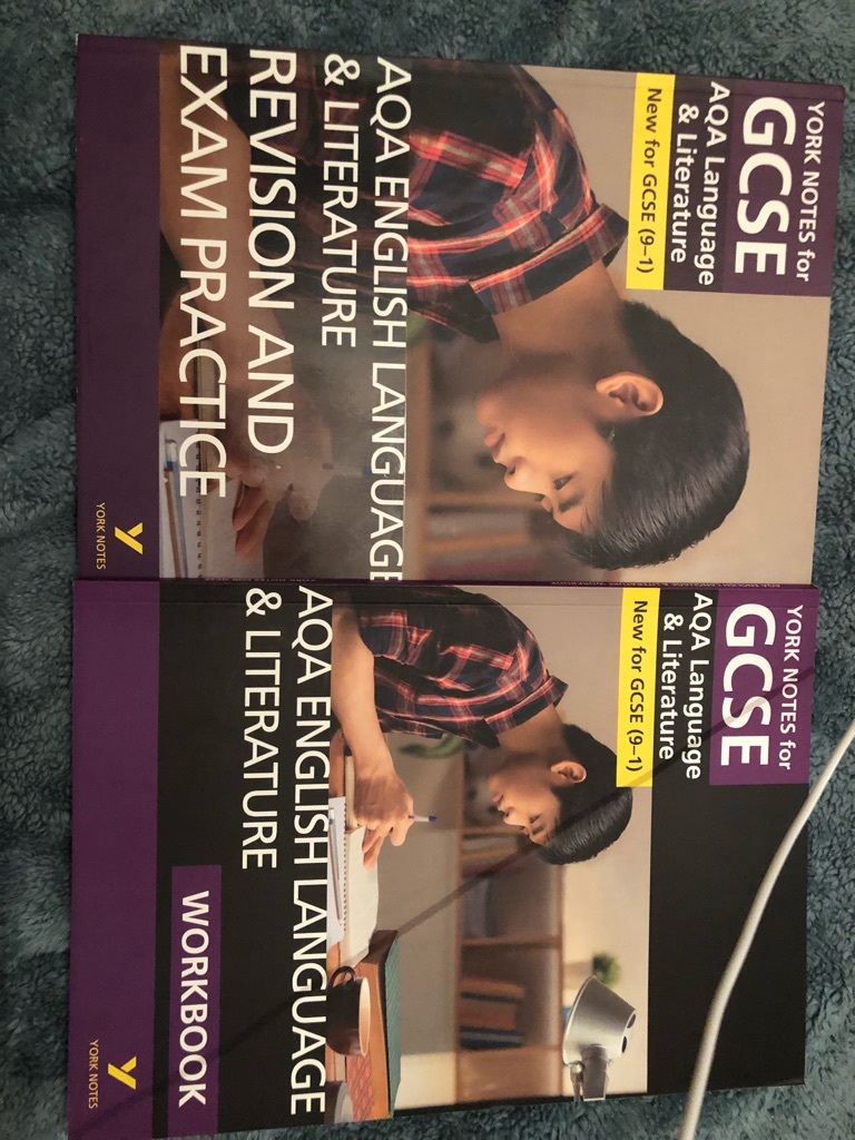 AQA GCSE English lit&lang revision&exam practice never used