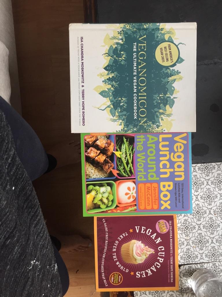 3 vegan recipe books for a fiver