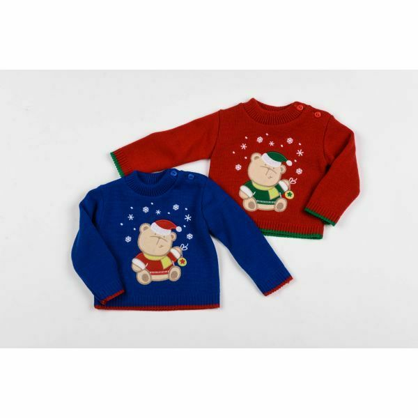 Baby Christmas Snow Bear Jumper