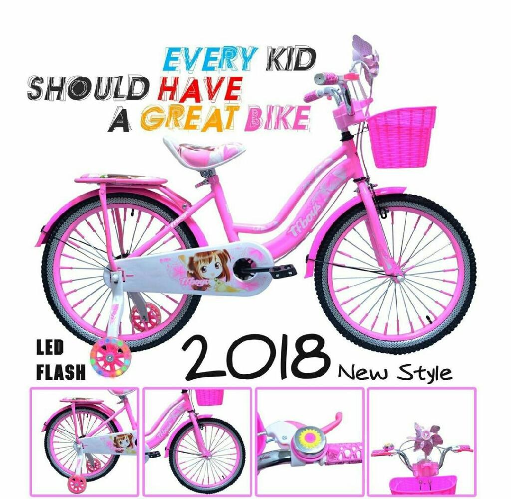 Kids luxurious bike girls