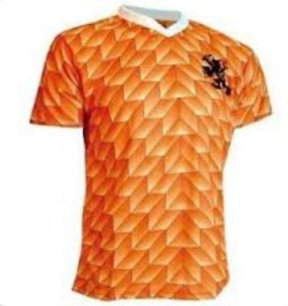 Holland Netherlands 1988 Retro Football Soccer Shirt Home Vintage Classic size L
