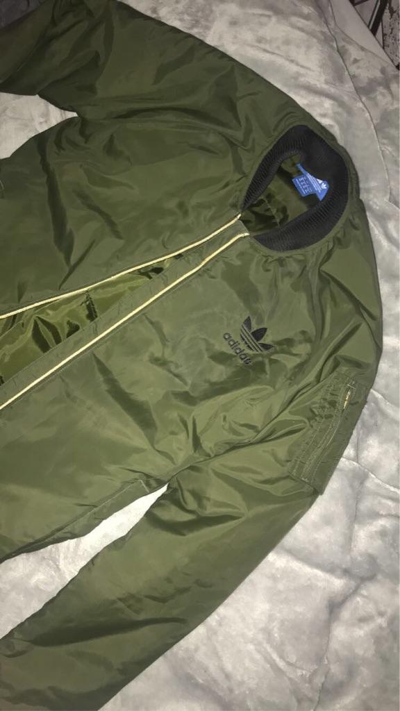 Adidas bomber jacket!