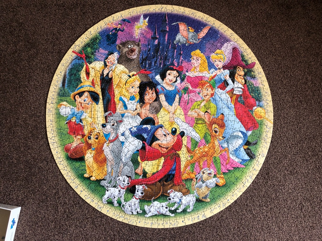 4 Disney Jigsaws