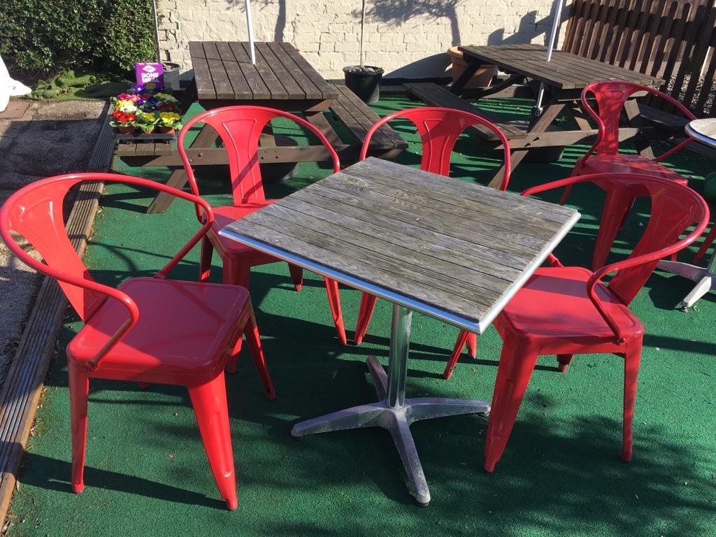 Heavy duty garden furniture sets
