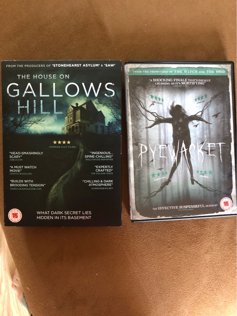 Harry Potter Collection & Two Horror Films