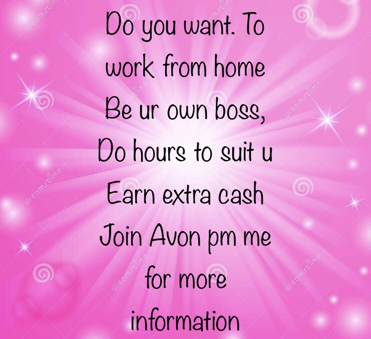Work from home join Avon