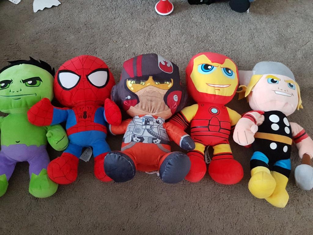 Avenger teddys x 5