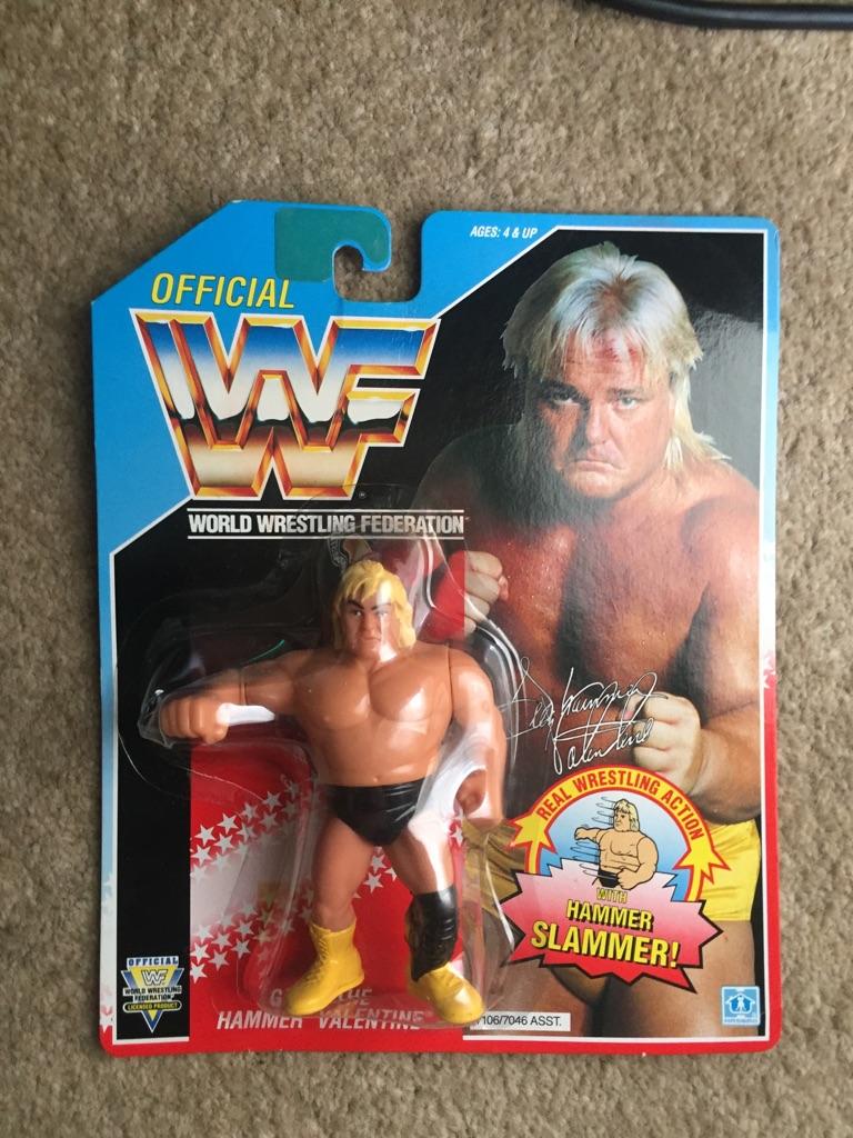 WWF 1992 Gregg the Hammer MOC