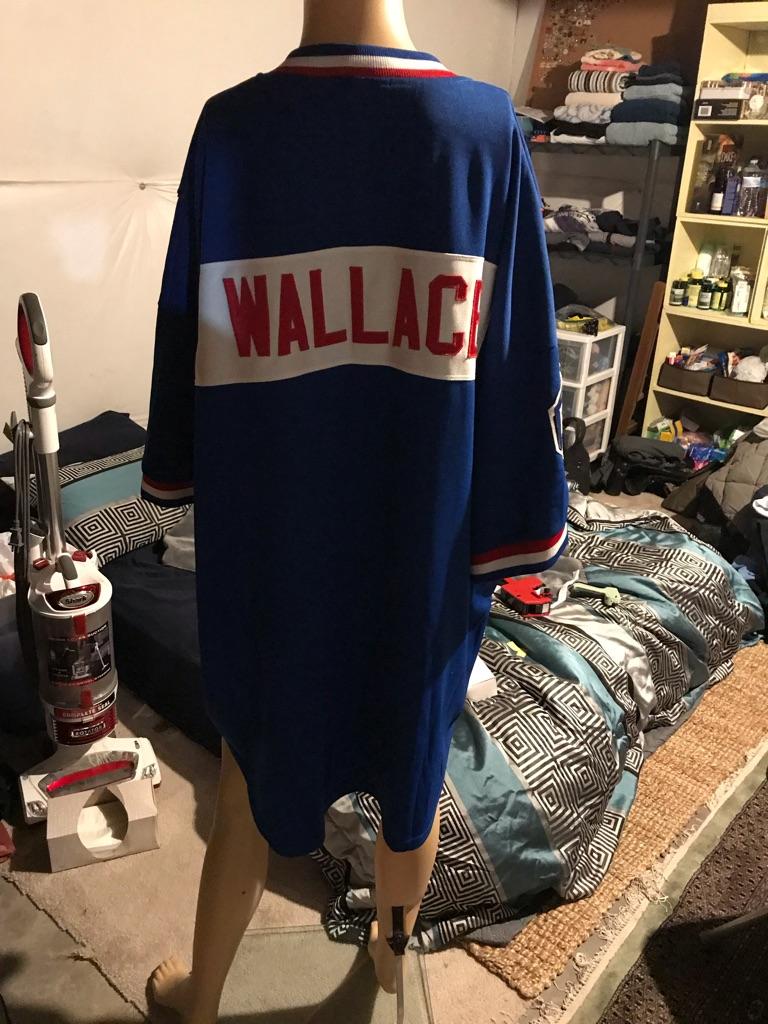 Detroit Pistons #3 Ben Wallace Warm Up Jersey