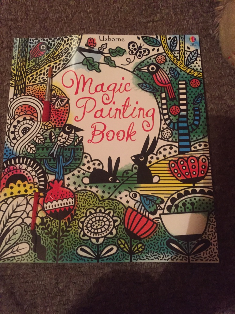 Magical painting books