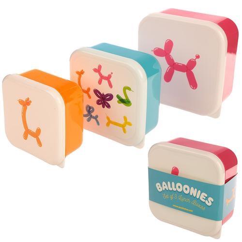 Cute balloon animals design set of 3