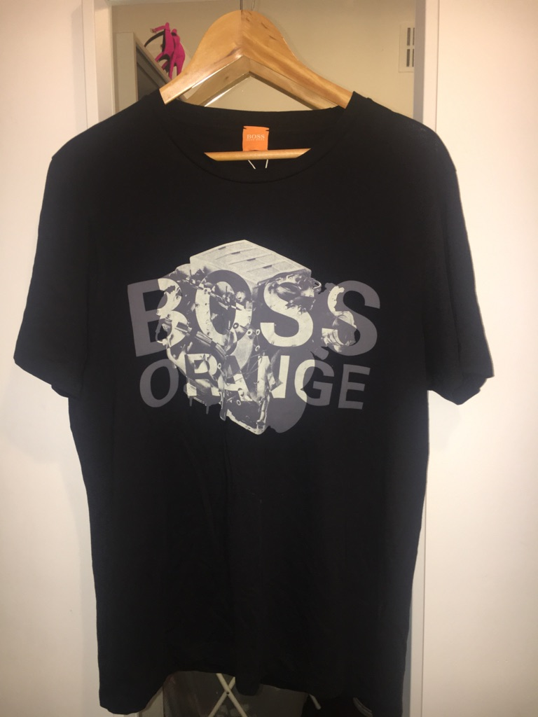 Men's Hugo Boss Orange T Shirt