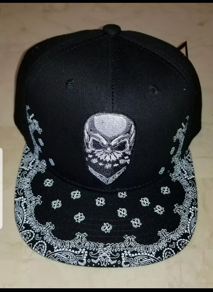Black Bandana Bill Snapback