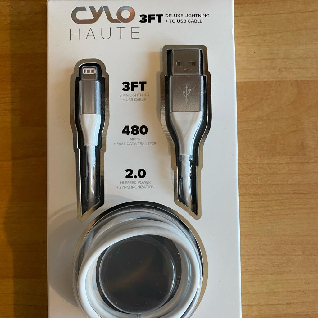 Designer iPhone cable