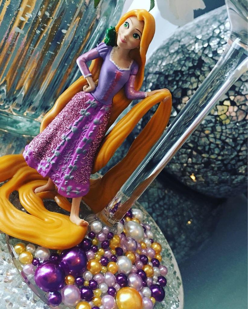 Rapunzel glass