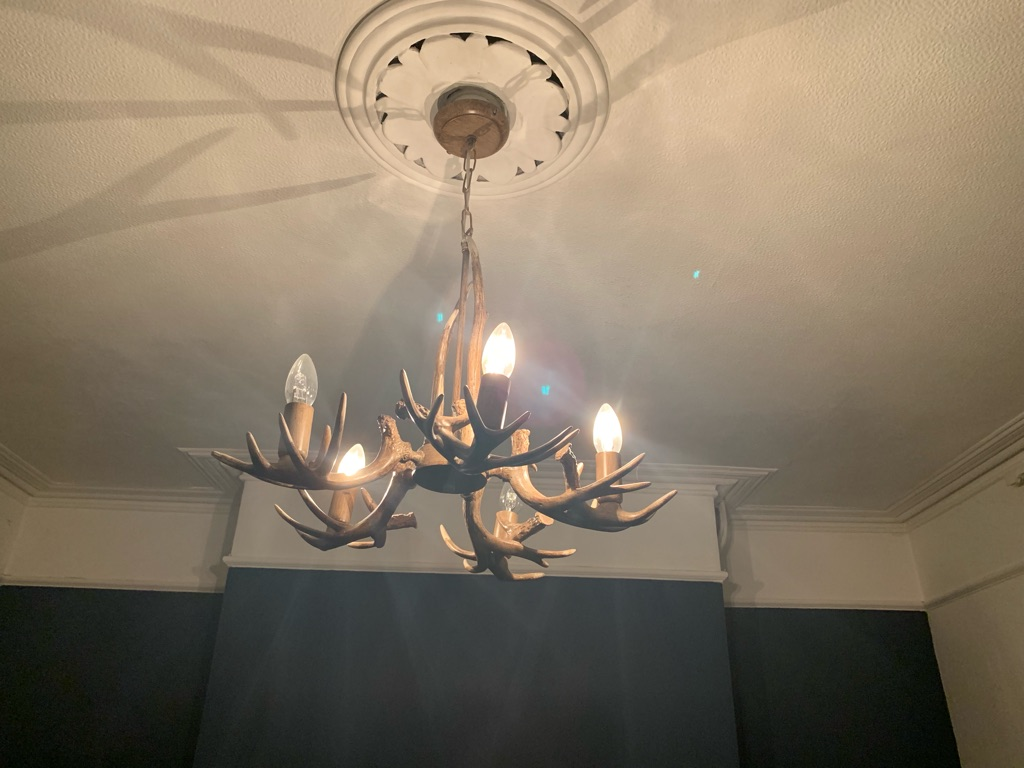 Stagg light fitting