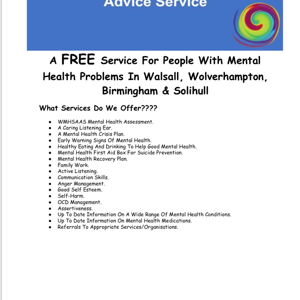 Walsall Mental Health and Support Service