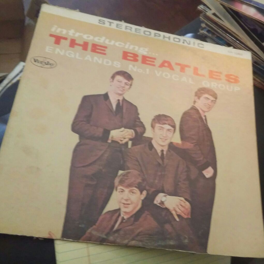 The Beatles first American release