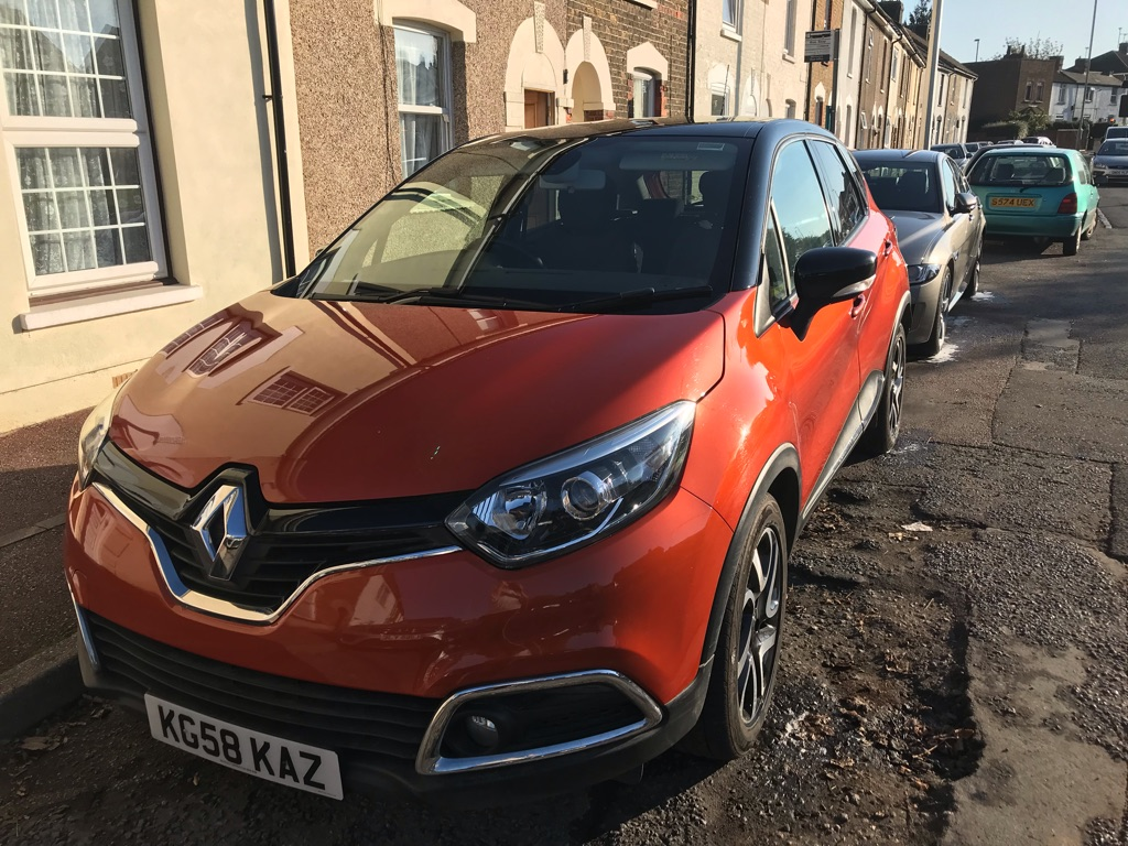 Renault capsur (65plate 2015) deisel