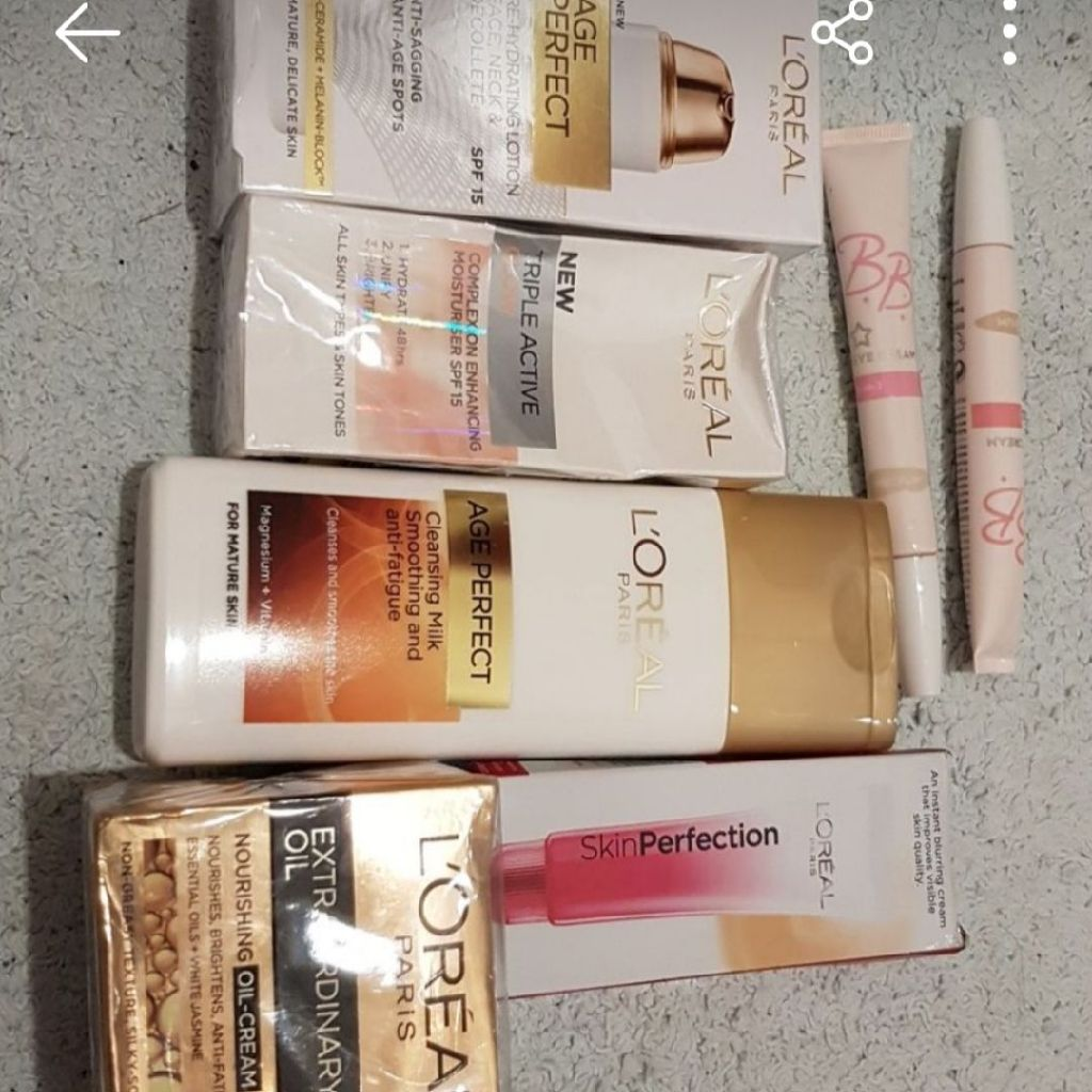 Loreal face products