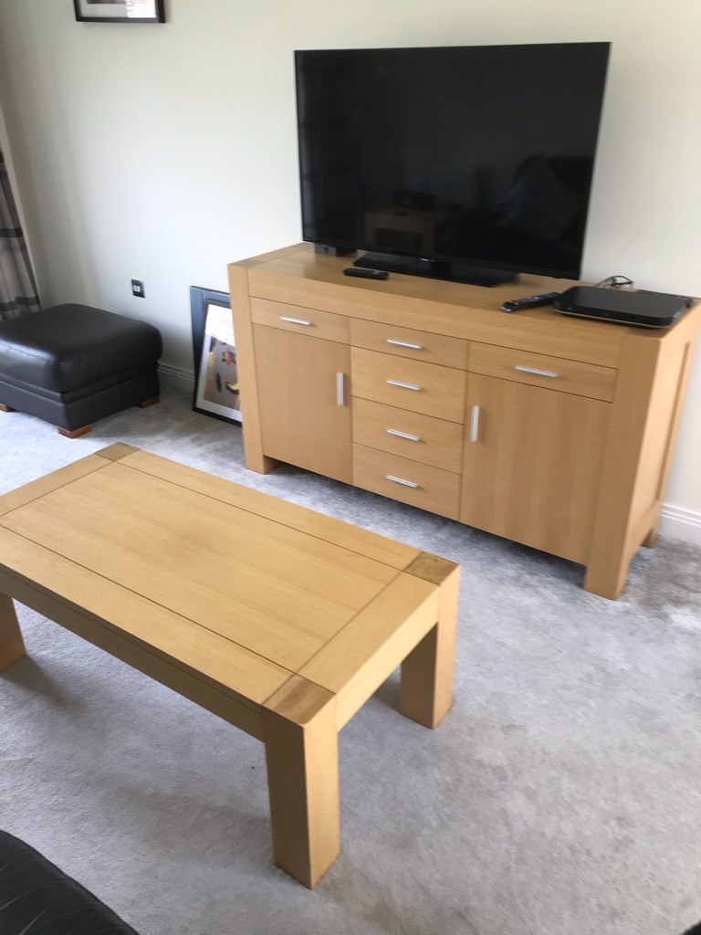 Light Oak Furniture in good condition