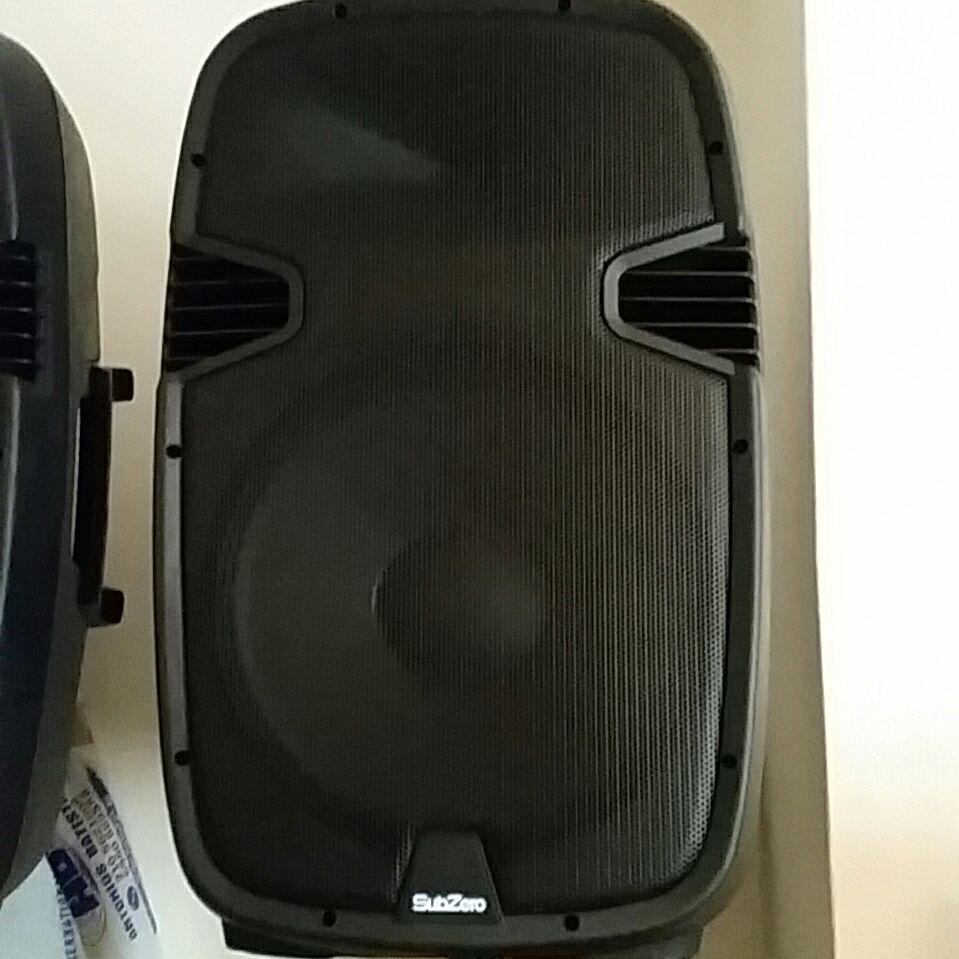 Sub Zero active speakers