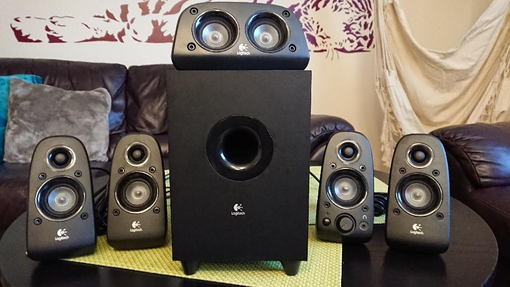 Logitech Speakers 5.1 Z506