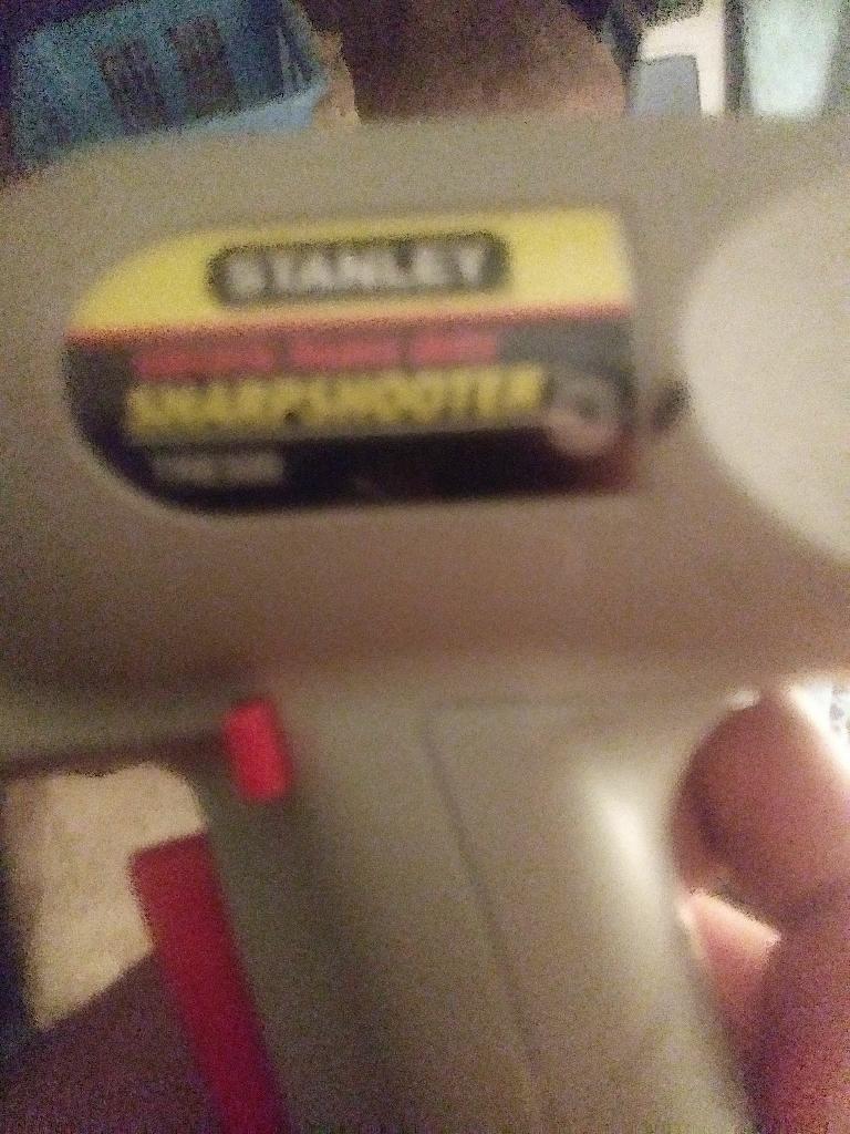 Stanley electric nail gun
