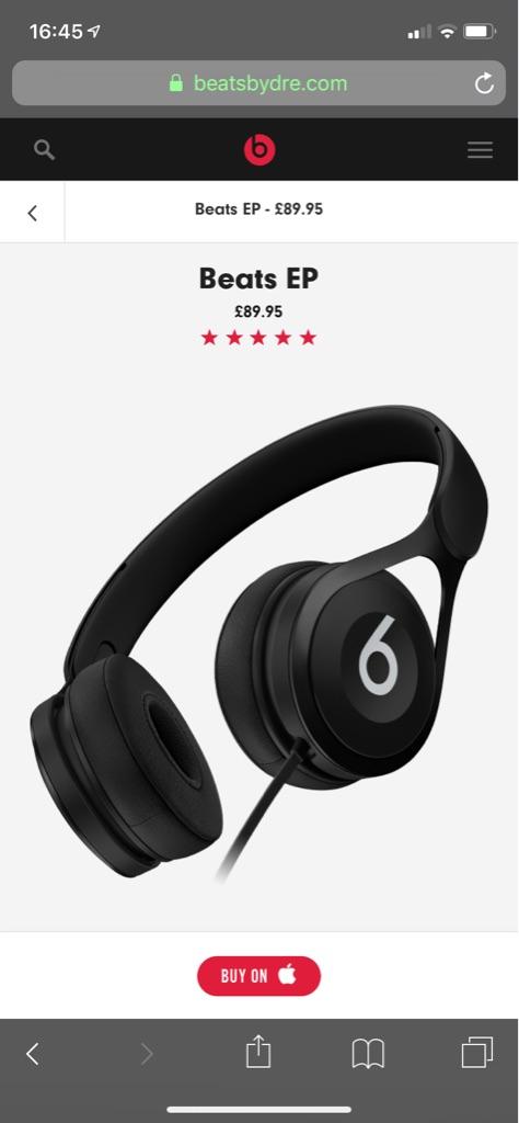 Black Beats Headphones EP