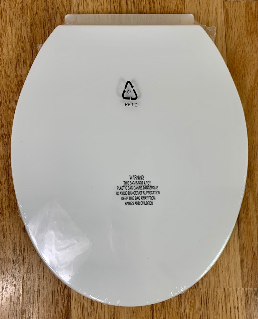 Standard Soft Close Toilet Seat BNIB