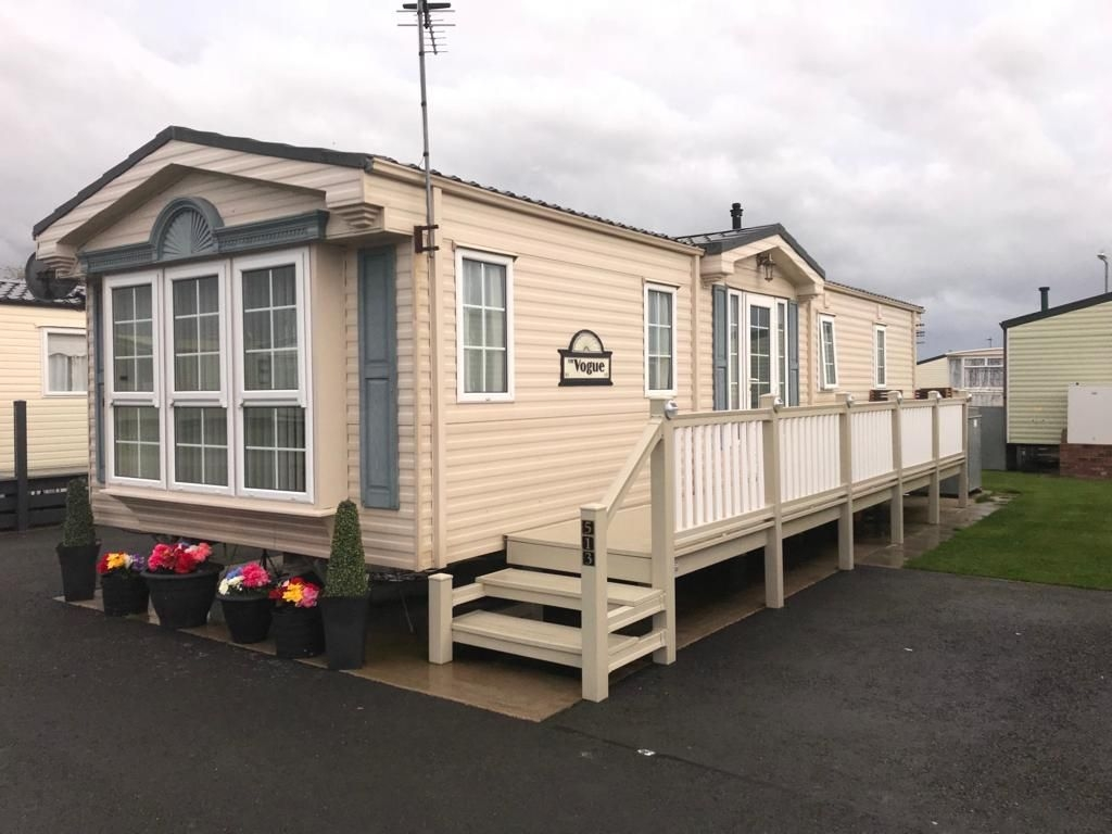 Caravan for hire Edwards Leisure Park Towyn