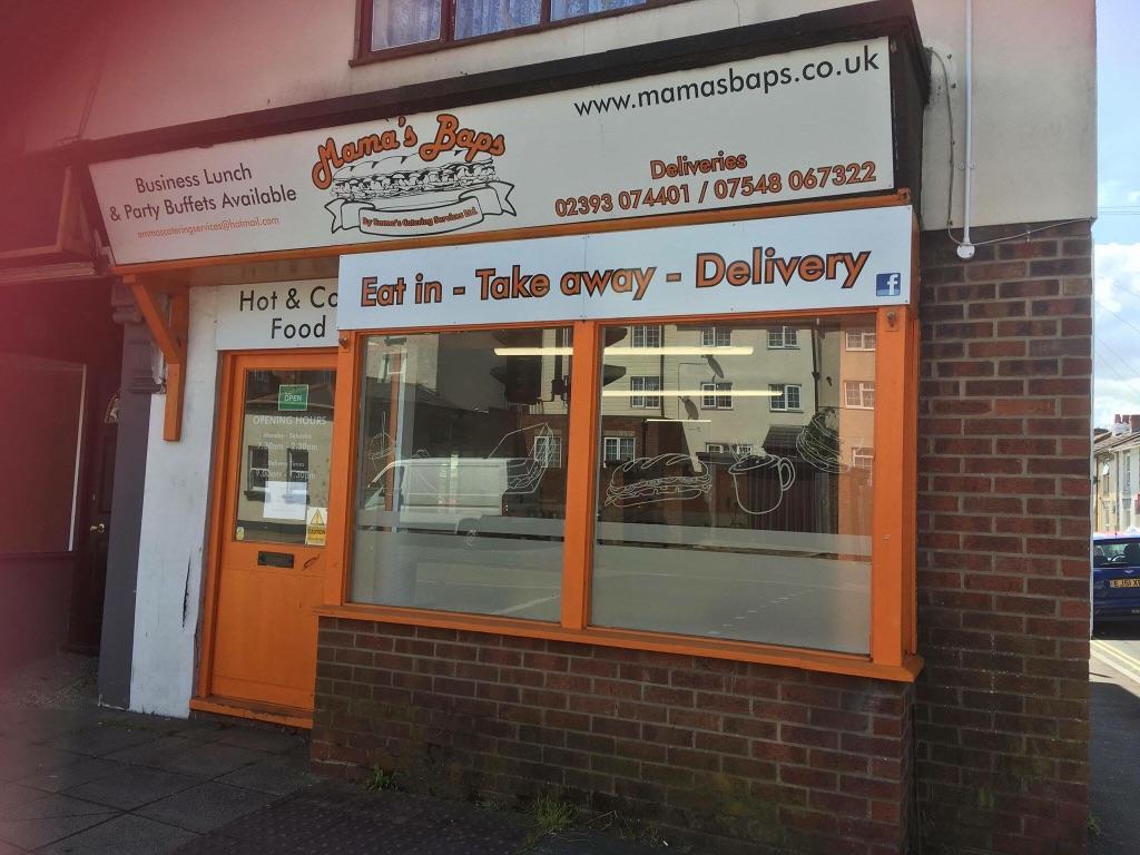 Cafe sandwich shop