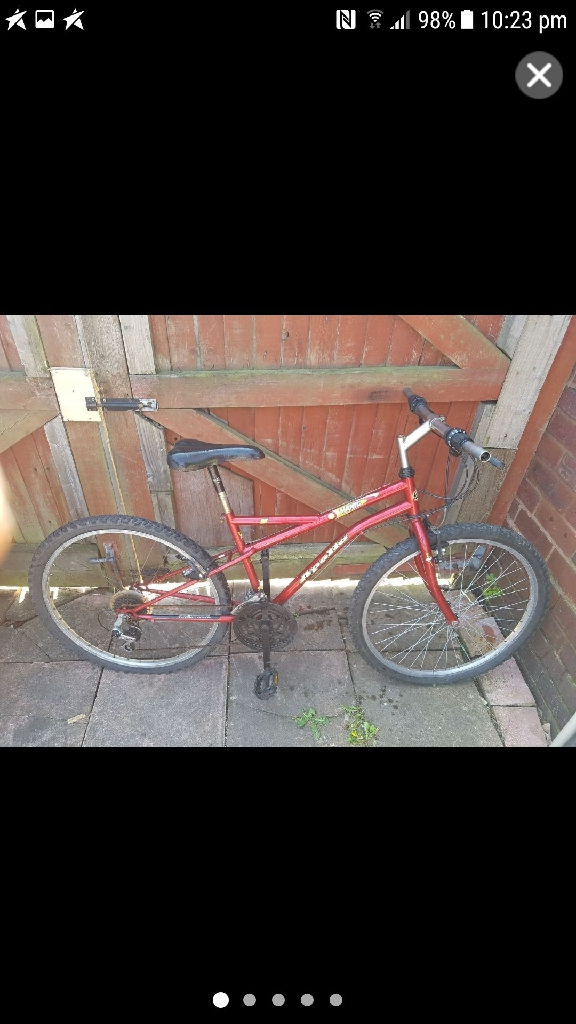 Swap mountain bike