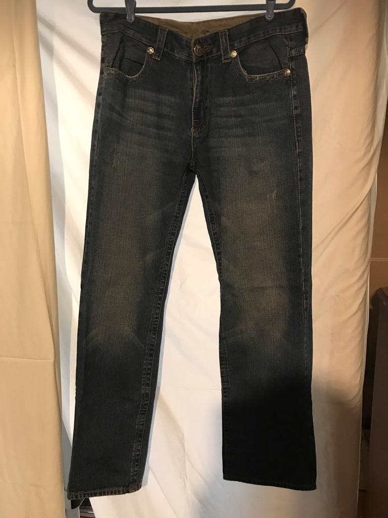Ed Hardy Vintage Tattoowear Distressed Jeans