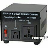 ROCKSTONE Power Rt500w Step up & Down Transformer