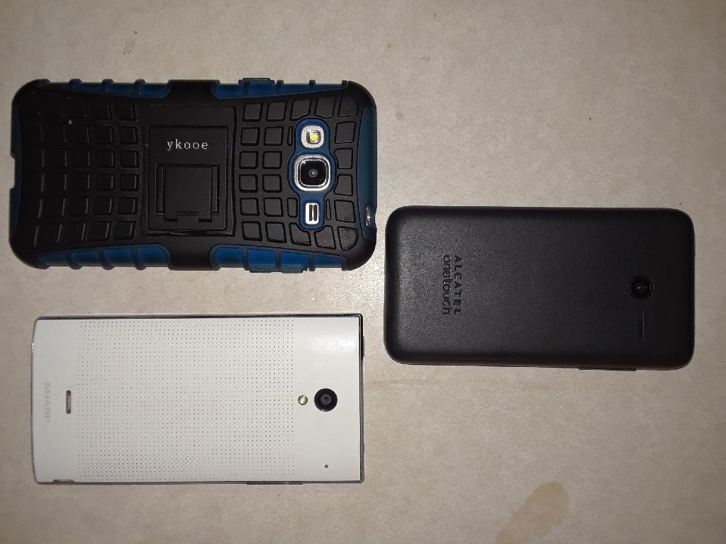 Four  smart phones