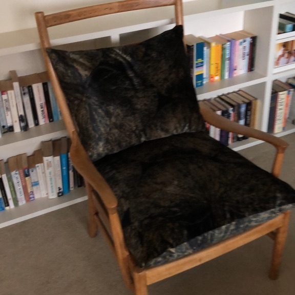 Ladderback occasional chair