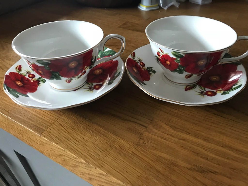 Grace's teaware cup and saucers