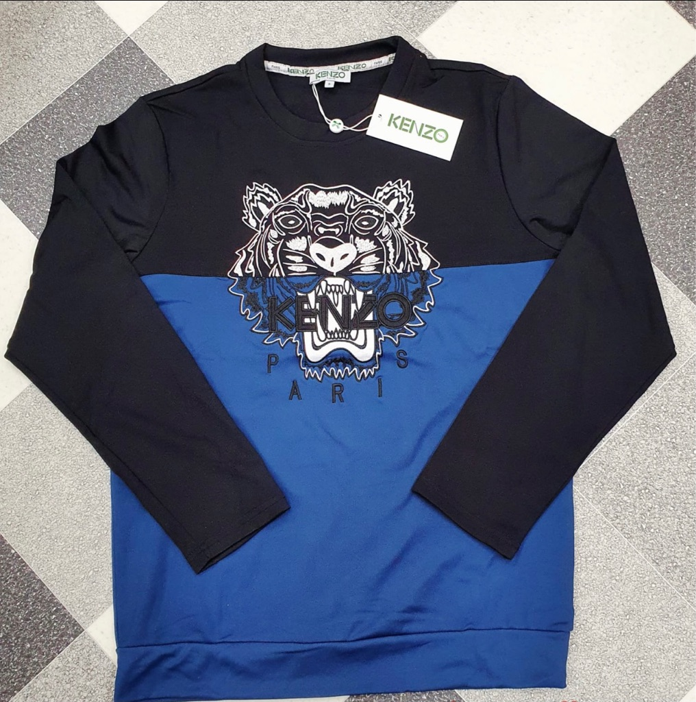 Brand New two tone coloured Kenzo men's jumpers