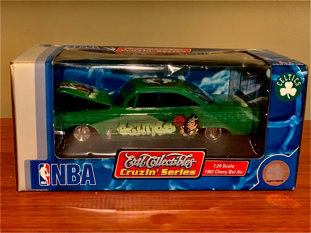 Boston Celtics ERTL Collectibles Cruzin' Series 1962 Chevy Bel Air