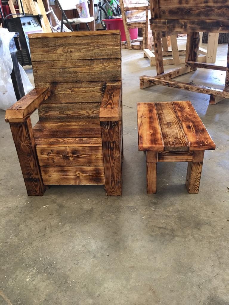 Rustic baby patio furniture